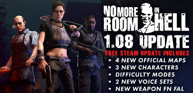 1.08 Update release now on steam!